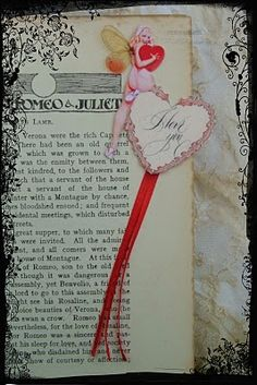 Valentines Cards, Love Tokens and Gift Tags.