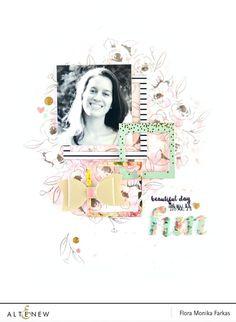 Painted Flowers Stamp & Die Bundle – Altenew