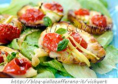 Bruschette di patate grigliate con zucchine e provola, ricetta sfiziosa, facile, idea per pranzo o cena, ricetta con verdure di stagione, leggera, pochi grassi