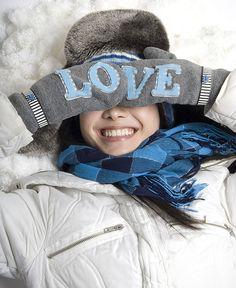 Winter Love Mittens