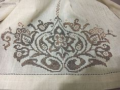 Embroidery Dress, Cross Stitch Embroidery, Cross Stitch Patterns, Filet Crochet, Needlework, Stencils, Inspiration, Towels, Hardanger