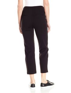 9e36f2cbe1 Lysse Womens Ponte Crop Trouser Black M * You can find more details by  visiting the