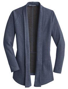 Put your branding on this Ladies Interlock Cardigan - as low as $34.99 ea.