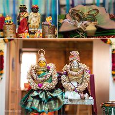 nice Nandini + Karthik | South Indian Engagement Ceremony