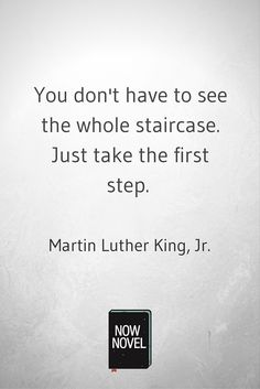 Stop procrastinating - Martin Luther King quote
