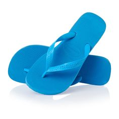 Now on www.flipflopsuk.co.uk  Havaianas Top Flip Flops - Turquoise!  #Flipflops #Espadrilles #Havaianas #sandals
