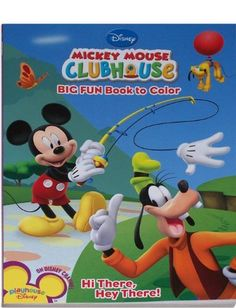 Image Result For Mickey Coloring Book Holidays Game ArtDisney Mouse