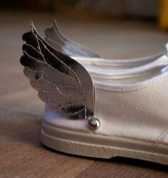 Chaussures ailées : le tuto