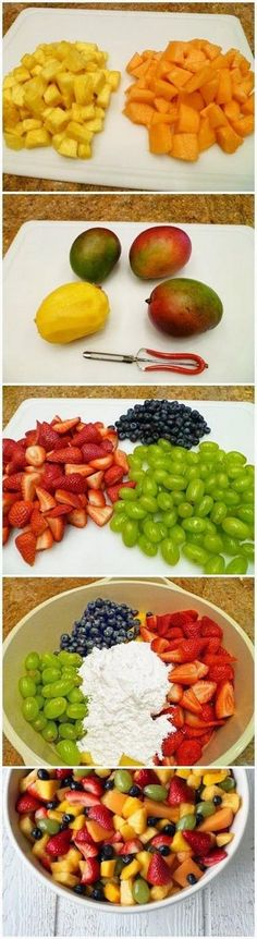 Fruit Salad for a Crowd – The Best Fruit Salad Recipe Ever | foodsweet | foodsweet