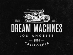 The Dream Machines - Los Angeles.  Anyone know who designed this???
