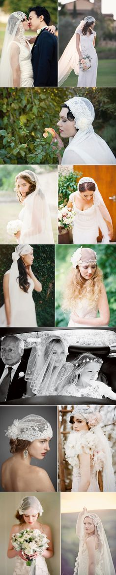 Juliet Cap Veil is the style of veil that Dacia is working on right now for a Veils by Dacia client #veilsbydacia