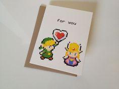 Zelda love card