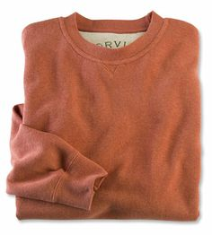 Just found this Soft Cotton Crew Neck Sweatshirts - Heathered Signature Softest Sweatshirt -- Orvis on Orvis.com!