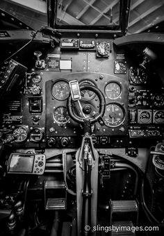 Inside a Spitfire.  SlingsbyImages.com