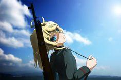 Image for Desktop: youjo senki Female Characters, Anime Characters, Tanya Degurechaff, Tanya The Evil, Empire, Free Desktop Wallpaper, Wallpaper Downloads, Anime Military, Human Body Parts