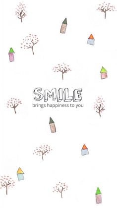 Smile brings happiness to you Wallpaper For Your Phone, Lock Screen Wallpaper, Cool Wallpaper, Mobile Wallpaper, Pattern Wallpaper, Wallpaper Quotes, Animal Wallpaper, Colorful Wallpaper, Black Wallpaper