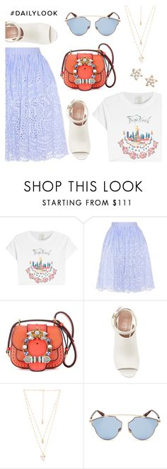 """""""Daily Look"""" by dressedbyrose ❤ liked on Polyvore featuring Anna Sui, Miu Miu, Marni, Natalie B, Christian Dior, Estella Bartlett, Dailylook and polyvoreeditorial"""