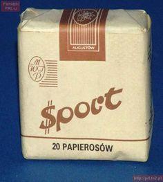 Polish cigarettes