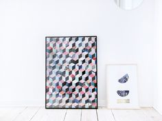 DIY: paper collage art
