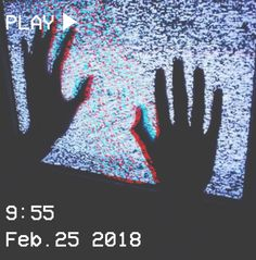 M O O N V E I N S 1 0 1 #vhs #aesthetic #grunge #glitch #hands #black #white