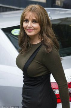 She has a gorgeous hourglass figure and Loose Women co-presenter Carol Vorderman has got no qualms about showing it off. Carol Vordeman, Carol Kirkwood, Beautiful Old Woman, Tv Presenters, Sexy Older Women, Tights Outfit, Celebs, Celebrities, Thing 1