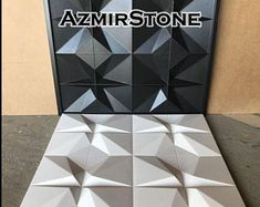 Plastic mold for gypsum and concrete Panel Form for making plaster decor panel plastic mold mould for decorative wall panels DIY Concrete Casting, Concrete Forms, Concrete Tiles, Wall Panel Molding, Gypse, Decorative Wall Panels, Modelos 3d, 3d Wall Panels, Plastic Molds
