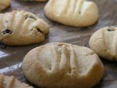 Korintkakor - Swedish currant cookies