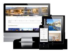 HomeTown - Real  Estate Template. Joomla Themes. $69.00