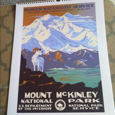 Awesome national park poster. Love the color scheme.