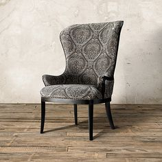 Portsmouth Upholstered Chair In 2280 Pewter Arhaus