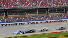 NASCAR Holds Testing Session At Talladega Superspeedway