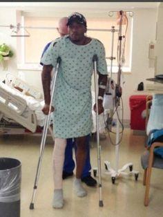 Kevin Ware, Louisville Basketball player injured during game