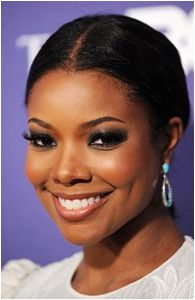 New wedding hairstyles african american gabrielle union ideas African Hairstyles, Bob Hairstyles, Wedding Hairstyles, Gabrielle Union, Bridal Makeup, Wedding Makeup, Afro, Creative Makeup Looks, Different Hairstyles