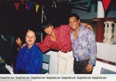 SRK with Anupam Kher