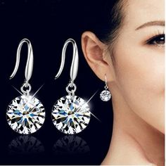 High fashion accessories Imitation Zircon crystal body jewelry long section of female ears. Yesterday's price: US $0.63 (0.52 EUR). Today's price: US $0.63 (0.51 EUR). Discount: 49%.