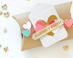thurstonpost: gossamer blue inspiration blog hop :: january :: valentine treat boxes