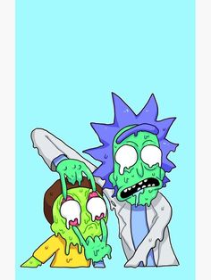 rick and morty wallpapers trippy quot;Rick and Morty quot; Trippy Rick And Morty, Rick And Morty Drawing, Rick And Morty Image, Rick Und Morty, Trippy Painting, Painting & Drawing, Unique Drawings, Cool Art Drawings, Pintura Hippie