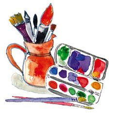 E Chester Painting ಌ Art ℘ Tools of Trade on Pinterest | Paint Brushes, Brushes and ...