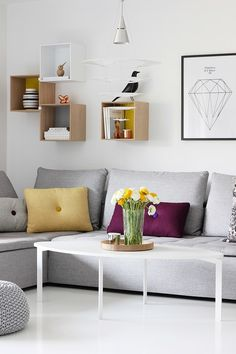 Via Nordic Leaves | Scandinavian Design | Hay Dot Pillows | Eames House Bird | Muuto Stacked