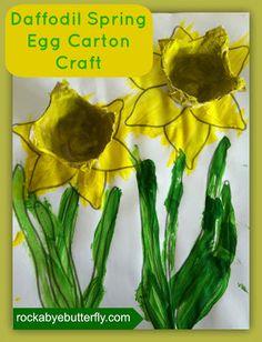 Rockabye Butterfly: Spring Daffodil Craft!
