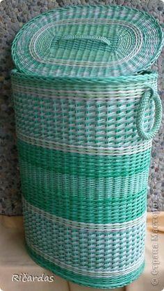 Поделка изделие Плетение Все ещё плету  Бумага газетная Трубочки бумажные фото 4
