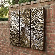 Outdoor Wall Decorations ceramic wall art tile, outdoor art. this is an amazing outdoor