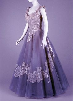 Evening dress, Anne Lowe, c. 1960