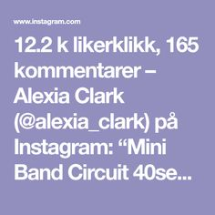 "12.2 k likerklikk, 165 kommentarer – Alexia Clark (@alexia_clark) på Instagram: ""Mini Band Circuit 40seconds on 20seconds rest 3-4 rounds Everything will be on fire 🔥…"""