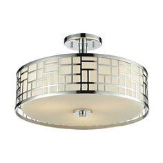 Z-Lite 328-SF16 Elea 3 Light Semi Flush Mount Ceiling Light