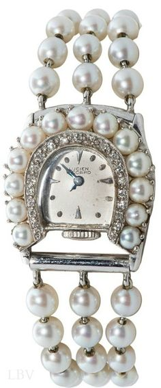 ~Vintage Pearl Watch | The House of Beccaria