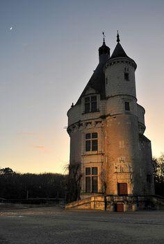La tour des Marques - Château de Chenonceau - Indre-et-Loire