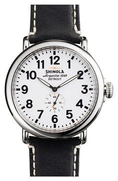 Shinola  The Runwell  Leather Strap Watch 93ac7fcf61f