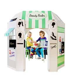 Love this Beauty Parlor Playhouse by Little Play Spaces on #zulily! #zulilyfinds
