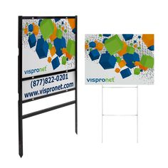 Design custom real estate signs online in minutes! Design Online or Upload Template. Custom Yard Signs, Real Estate Signs, Corrugated Plastic, Charity, Home Goods, Real Estates, Display, Storage, Frame